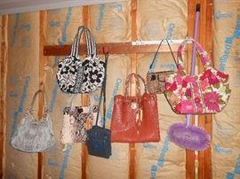 MK and Vera Bradly handbags