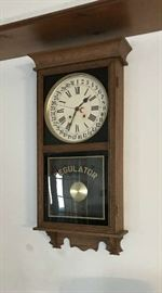 Vintage Regulator Clock