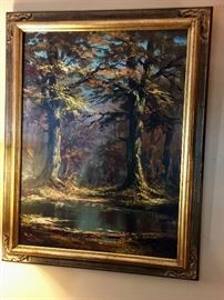 Original Oil painting from Germany
