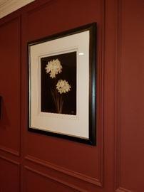 Beautiful framed Art.