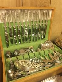 Very nice set of silver plate.