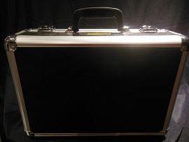 1.Personal Black Bugatti Briefcase