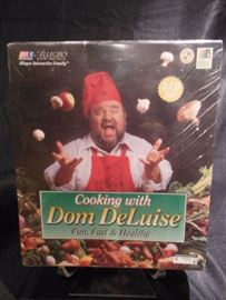 8.	Cooking With Dom DeLouise Sealed Box Set