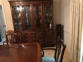 Matching china cabinet