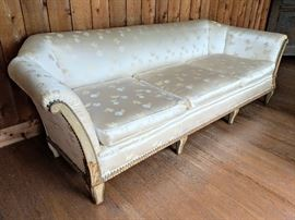 Sofa once owned by Anna Anderson, who believed she was Anastasia - a Charlottesville and World Legend.