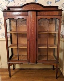 Mahogany Inlay Cabinet
