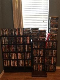 Sorry lighting bad! Great movie selection