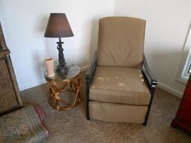 This recliner was first sat in by the owner Sunday 6/10!  Never used!