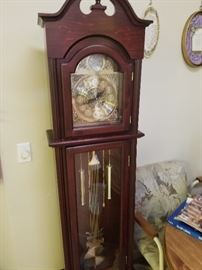 Older Grandfather Clock. Priced around 80.00