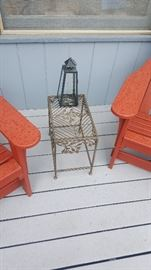Metal plant stands