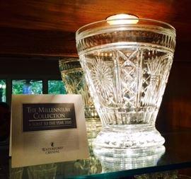 Huge Waterford Millennium Vase