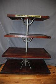 Antique 4 Tier Vico Hardware Store Display