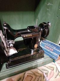 Vintage Singer 222 sewing machine