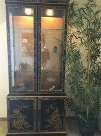 Porter's Asian Motif China Cabinet