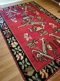 Beautiful Kilim Rug one of two