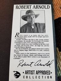 Robert Arnold information