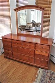 "Dresser w/ Mirror;  Cherry, Pennsylvania House, 66""Lx34""Hx20""D"