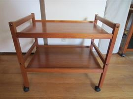 BRDR. Furbo teak tea cart