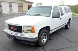 1997 GMC Sierra Pickup Truck, 216,970 Miles, VIN # 2GTEC19R2V1530986