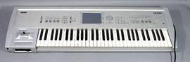 Korg Triton 61-Key Workstation Sampler Synthesizer Keyboard, SN# 006096, Works