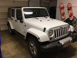 2015 Jeep Wrangler 47,000 miles