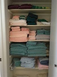 Many towels
