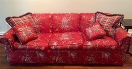 Down stuffed sofa
