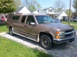 1995 Chevy 2500 2wd.  308xxx miles. Drive it to Florida tomorrow.  No air. Maintenance always kept up.