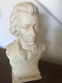 Small Mozart bust