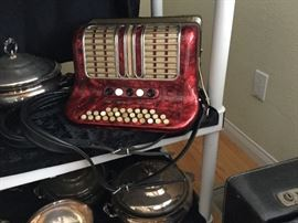 Hohner Club III M Accordian with case, super sweet
