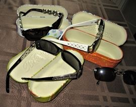 Assorted Brighton Brand Sunglasses with Cases
