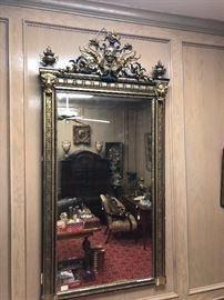 Napoleon II Antique French Mirror Item #