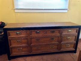 Thomasville ten drawer dresser