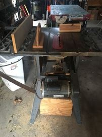 Table saw, full view