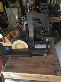 Dual purpose sander