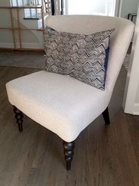 Armless chair purchased from West Elm