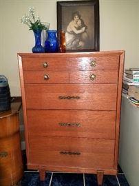 Vintage tall dresser