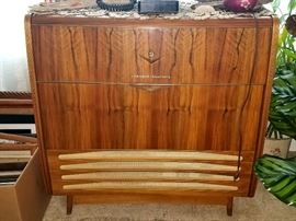 Antique Grundig radio/turntable unit