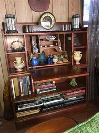 Cushman Bookshelf with writing desk