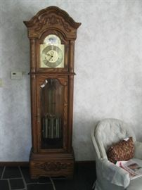 Grandfather Clock by Howard Miller (upper floor of House) please ask to see