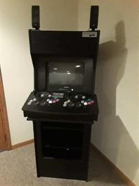 Video Arcade with Sound System PS2 and Games