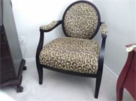 Sam Moore Leopard Spot Chair