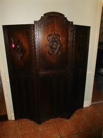 Art Deco room divider