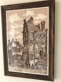 DUTCH TILED PICTURE