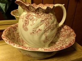 Pitcher and bowl set from England