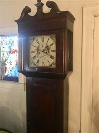 Antique Grandfather clocks & mantle clocks