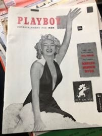 First Edition Playboy Issue (Reproduction).