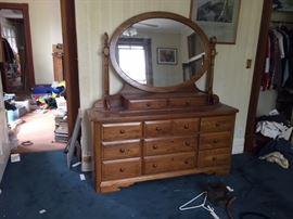 Dresser and Mirror.