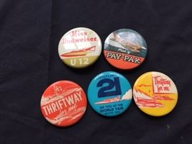 Hydroplane Racing Button's.