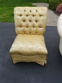 DOMAIN GOLD ACCENT CHAIR 160.00
